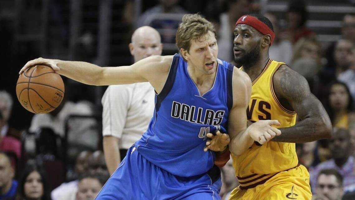 There will be a lot of star power on the floor when the Dallas Mavericks host the Cleveland Cavaliers, led by Dirk Nowitzki and LeBron James.